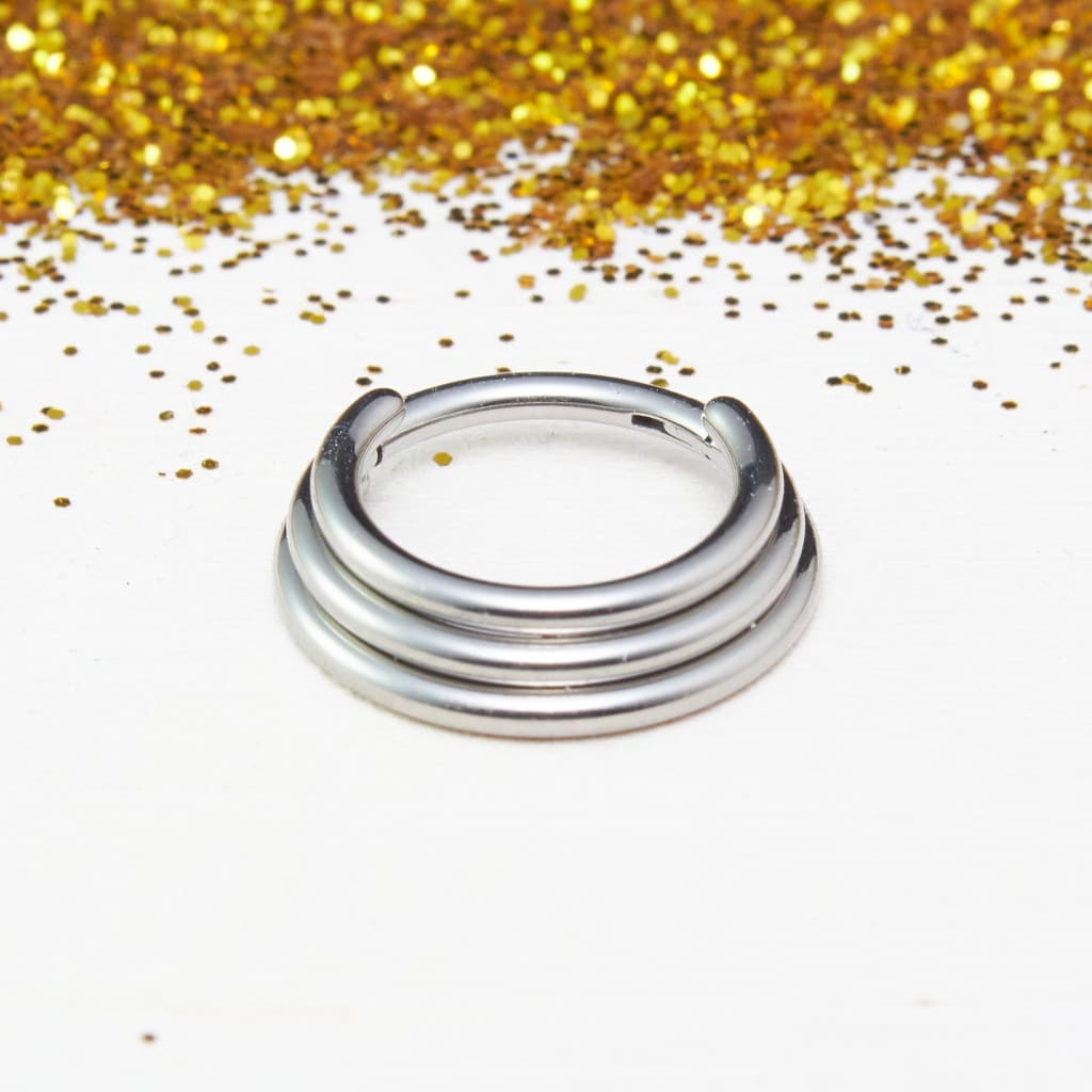 Hinged Stacked Ring