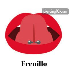 piercing frenillo lengua