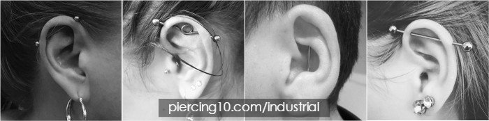 piercings industrial